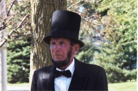 Vernon Risty as Abraham Lincoln