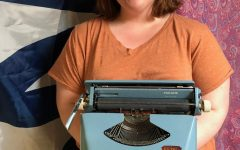 Harper's Student Collects Old Typewriters.