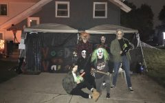 Ghouls from left to right: Courtney Larsen, (Redacted), Jesse Schultz, Mike Napoletano, Marc Levesque, (Redacted).