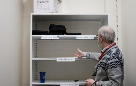 Harper library runs out of free rentable laptops