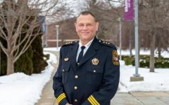 Harper's new Chief of Police, John Lawson, was sworn in January. Photo courtesy of Harper College.